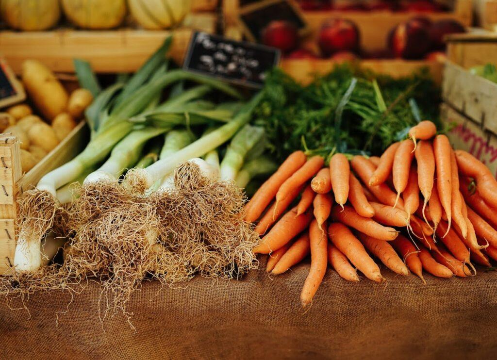 Prei en wortels kind